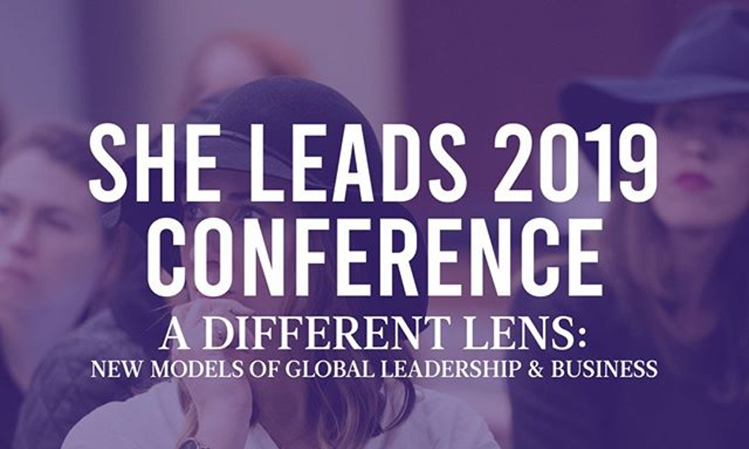It's that time again! She Leads 2019 Conference NYC
